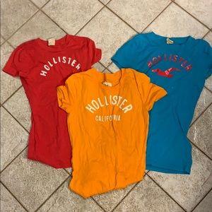 Hollister t-shirt bundle